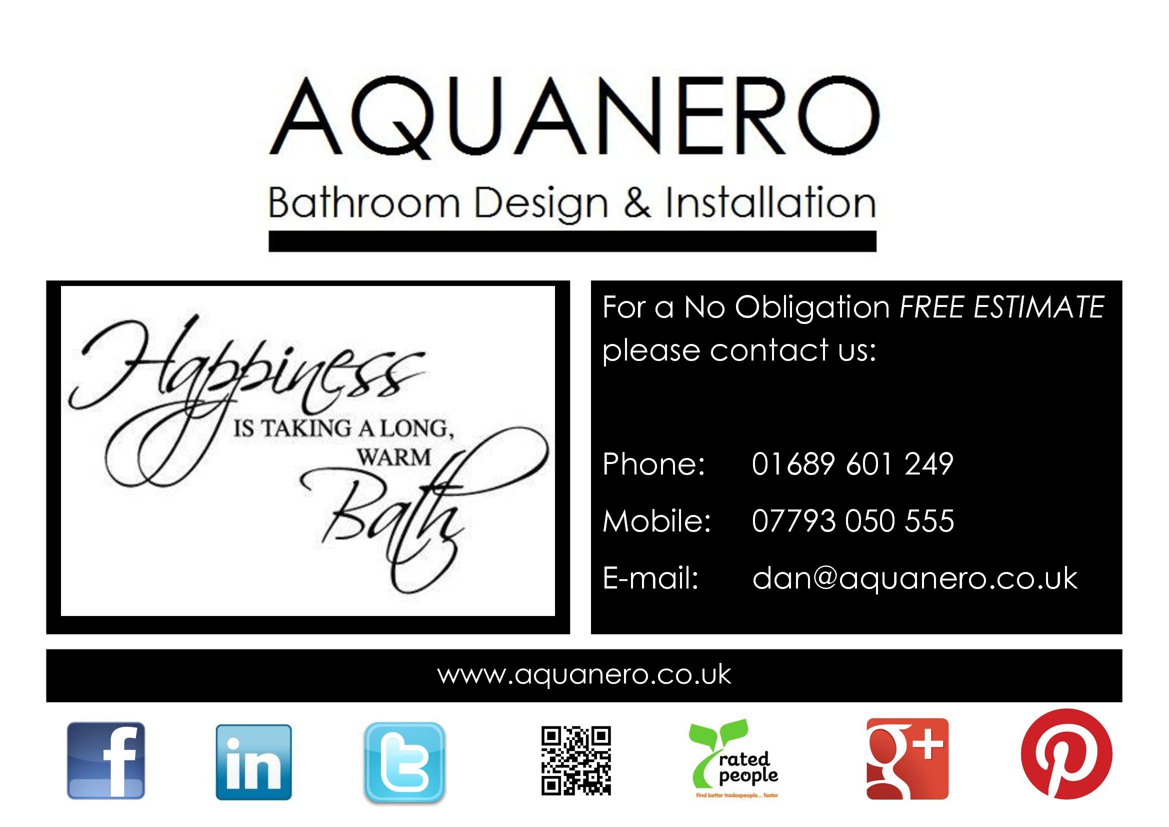 One of dartford csc shooters dan wayman aquanero for Bathroom design and installation